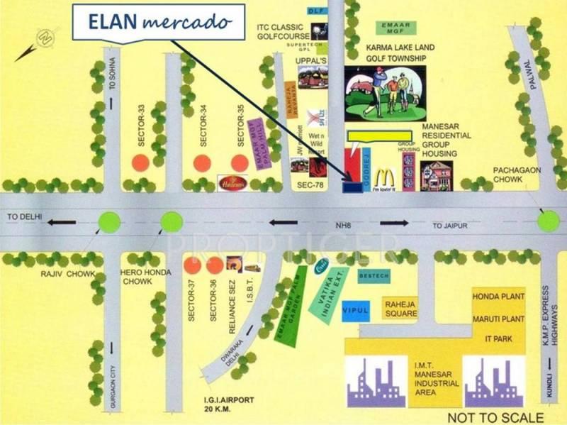Images for Location Plan of Elan Mercado