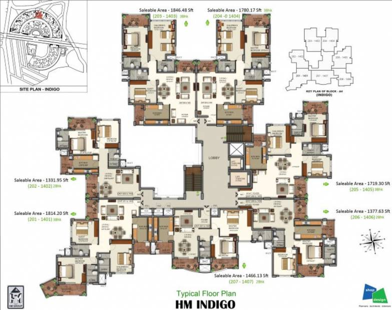 Images for Cluster Plan of HM Indigo