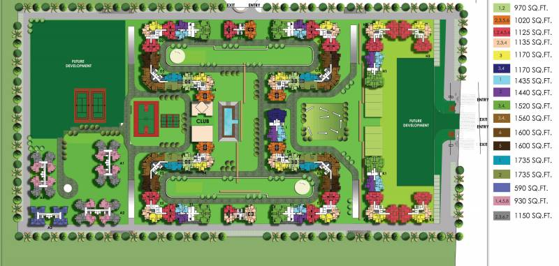 Images for Layout Plan of Patel Neo Town