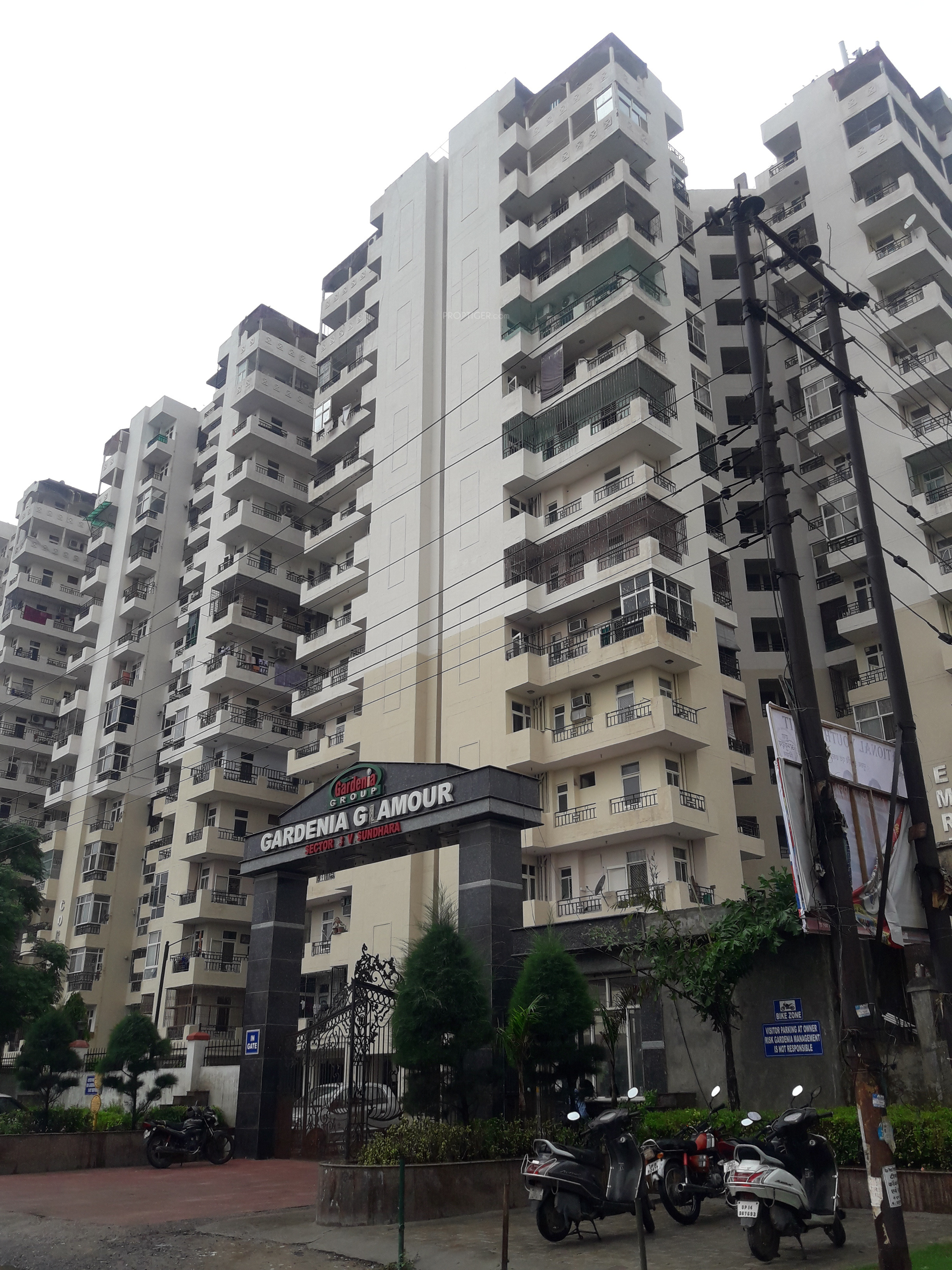 1550 Sq Ft 3 Bhk 3t Apartment For Sale In Gardenia Glamour Sector