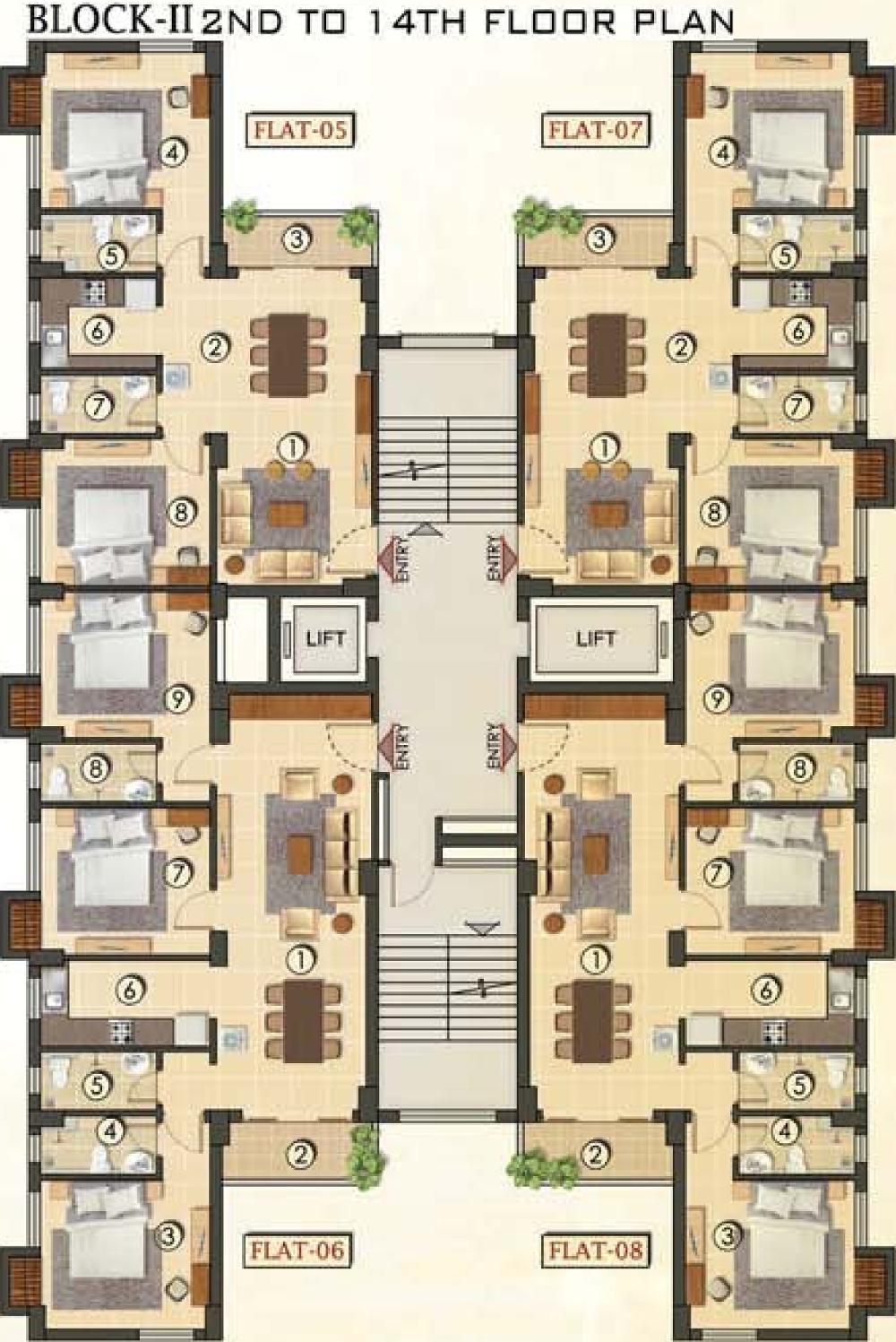 ganguly 4 sight grand castle in garia kolkata price location 19 87