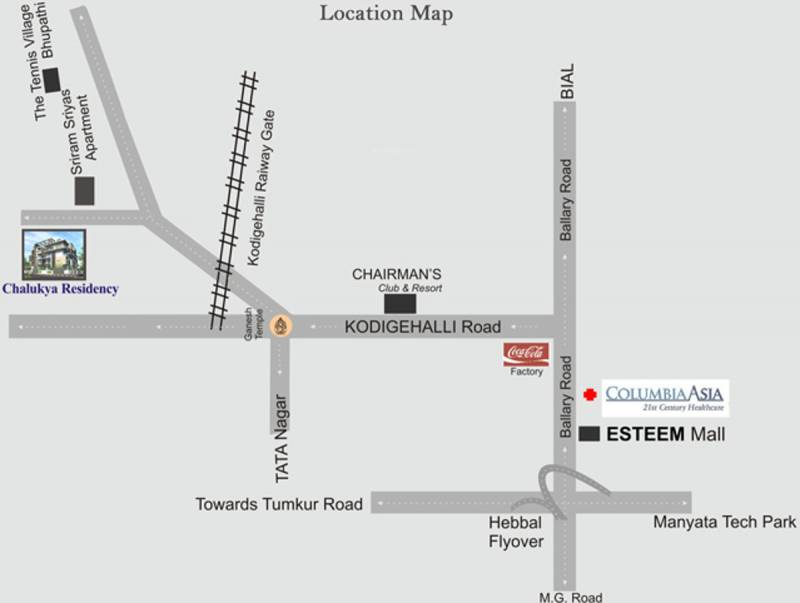 Images for Location Plan of Chalukya Residency