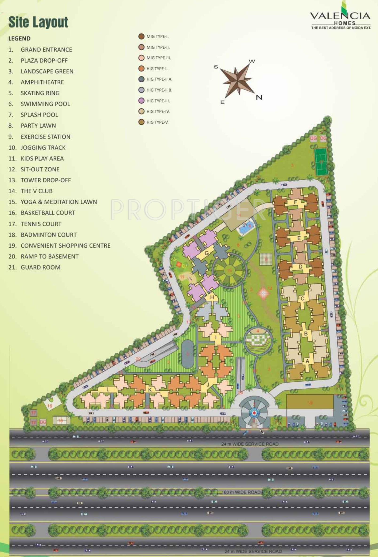 Hawelia Valencia Homes in Sector 1 Noida Extension, Greater Noida ...