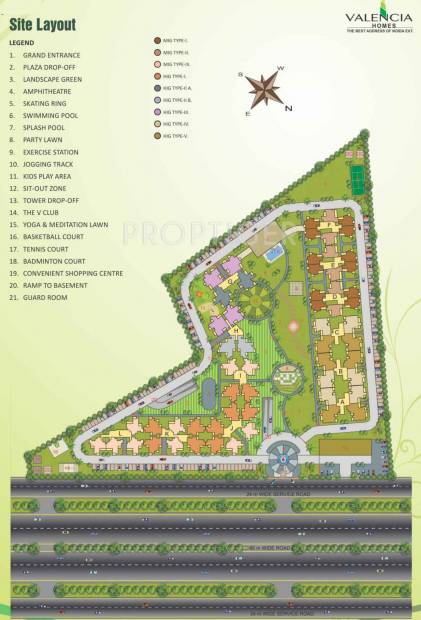 Images for Layout Plan of Hawelia Valencia Homes