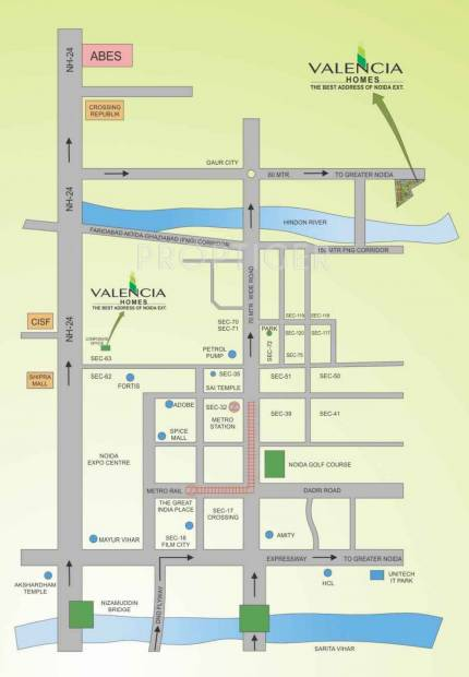 Images for Location Plan of Hawelia Valencia Homes