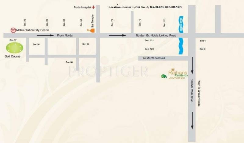 Images for Location Plan of Rajhans Residency