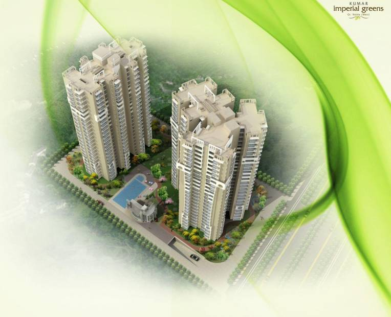 Images for Elevation of Keltech Kumar Imperial Greens