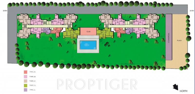 Images for Site Plan of The Antriksh Valley