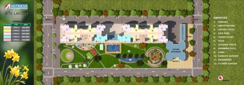 Images for Layout Plan of The Antriksh Valley