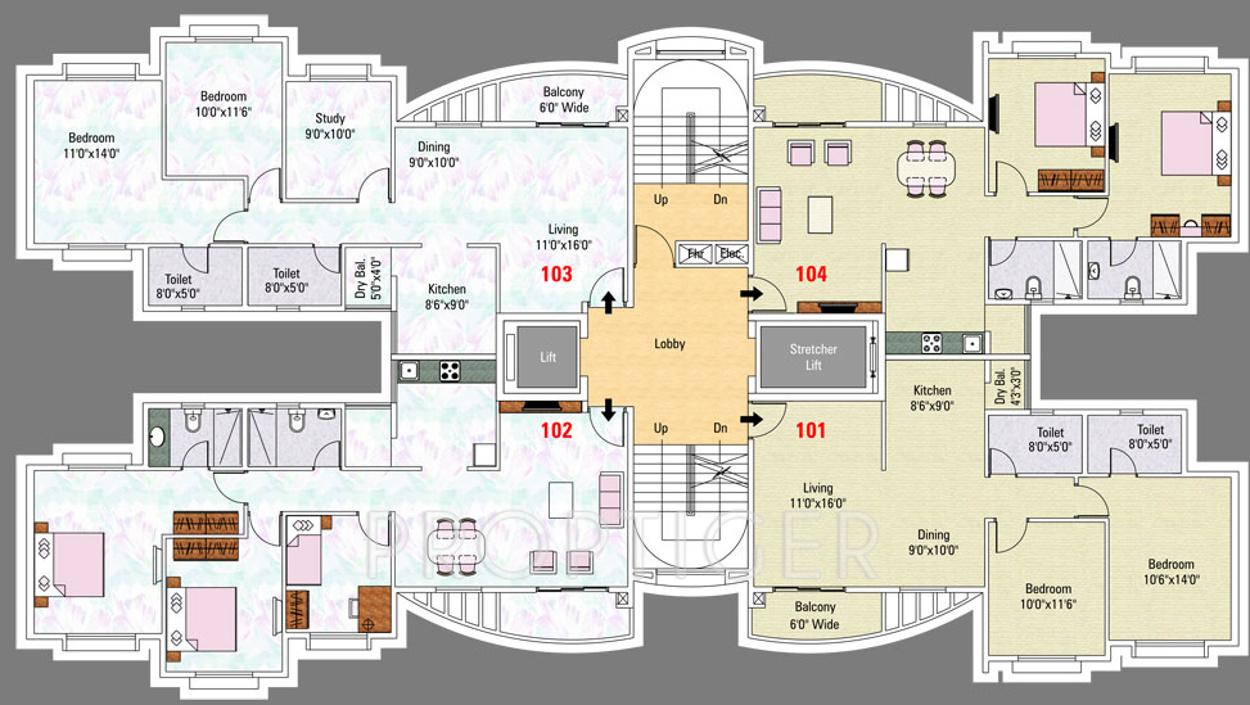Pegasus megapolis smart homes 2 in hinjewadi pune price for Smart home floor plans