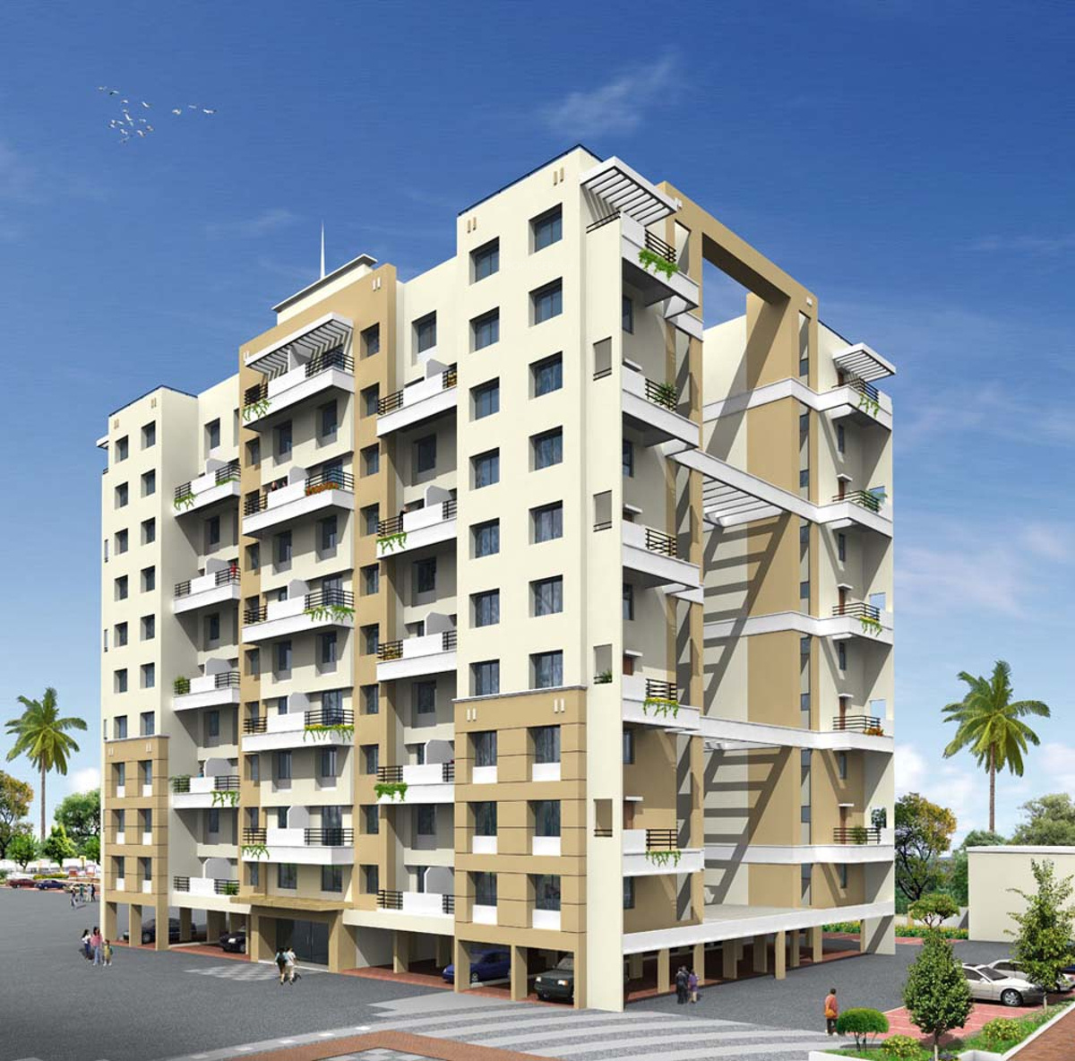 625 Sq Ft 1 BHK 1T Apartment For Sale In Raojee
