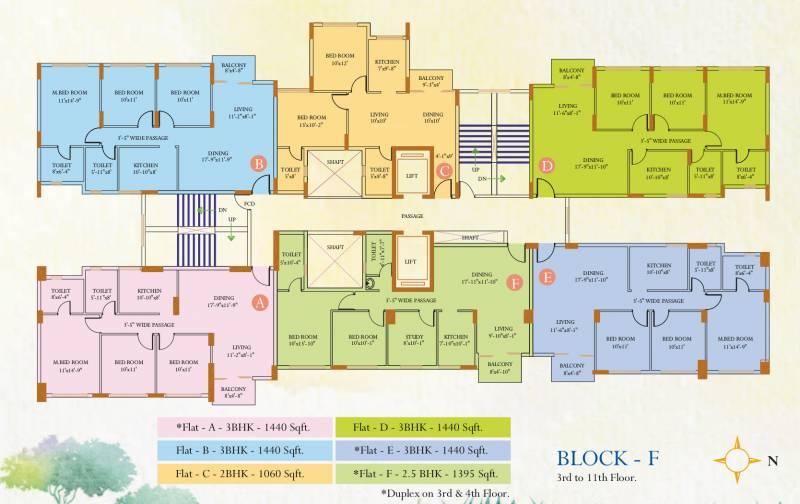 Images for Cluster Plan of Ideal Ideal Regency
