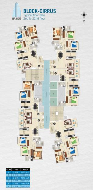 Images for Cluster Plan of Ideal Ideal Heights