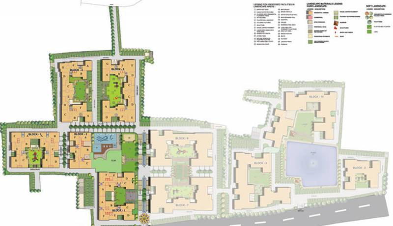 Images for Site Plan of Primarc Projects and Srijan Realty and Riya Group Southwinds