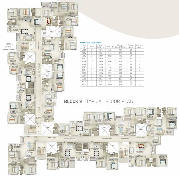 Images for Cluster Plan of Primarc Projects and Srijan Realty and Riya Group Southwinds