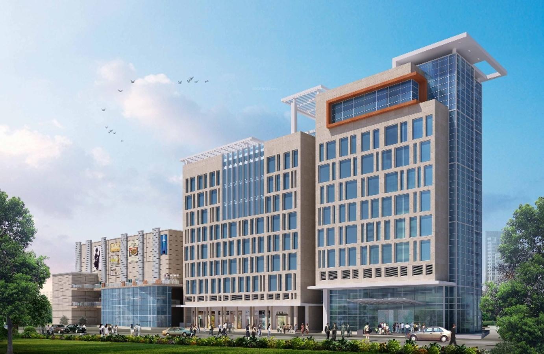 Ground Floor Portico Elevation : Ninaniya prism portico in sector gurgaon price