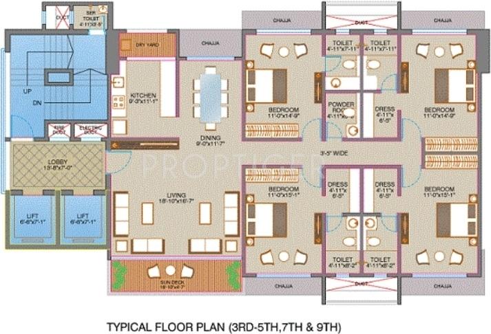 Images for Cluster Plan of Veena Royale Villa