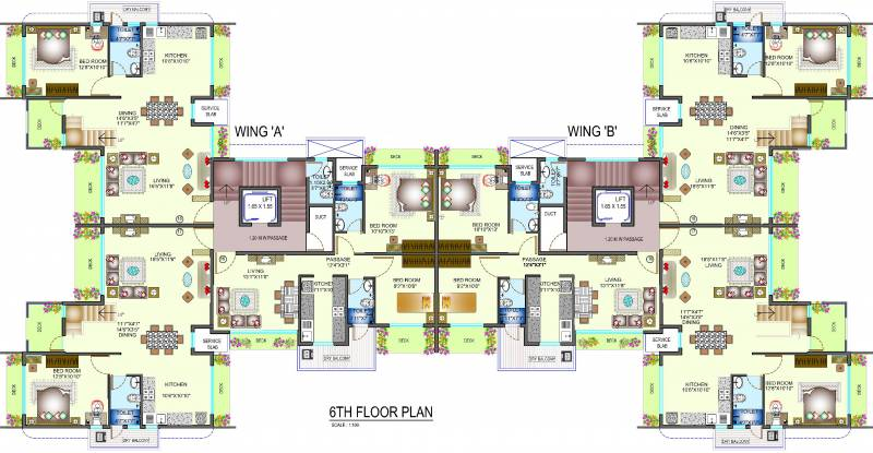Images for Cluster Plan of Dipti Sapphire
