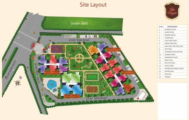Images for Layout Plan of Sarvottam La Royale