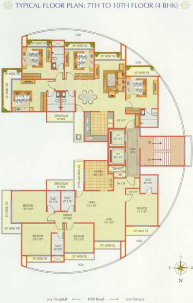 Images for Cluster Plan of Sanjona Abhilash