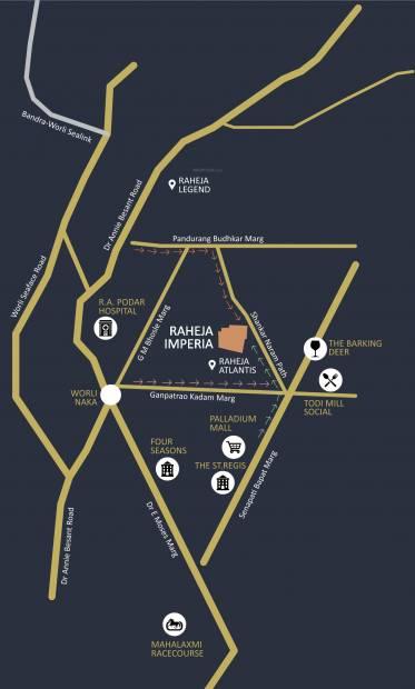 Images for Location Plan of Raheja Imperia I