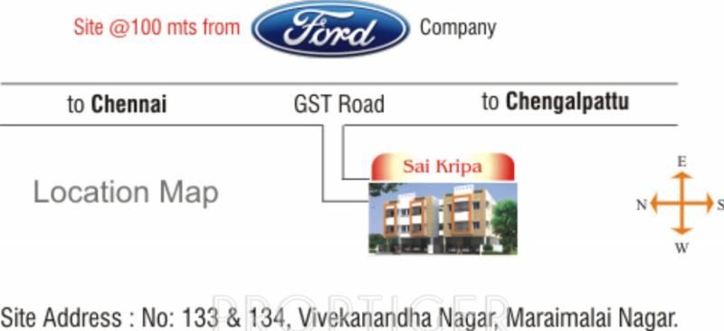 Images for Location Plan of Maruthi Sai Kripa