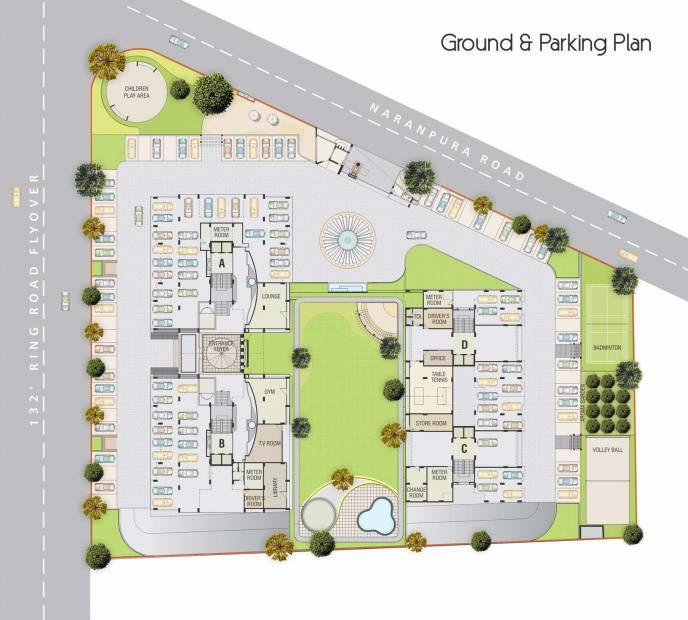 Images for Cluster Plan of Satyam Developers Skyline