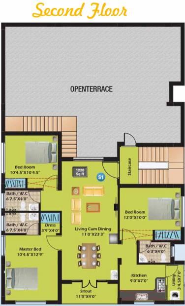 Images for Cluster Plan of SM Aksharaa