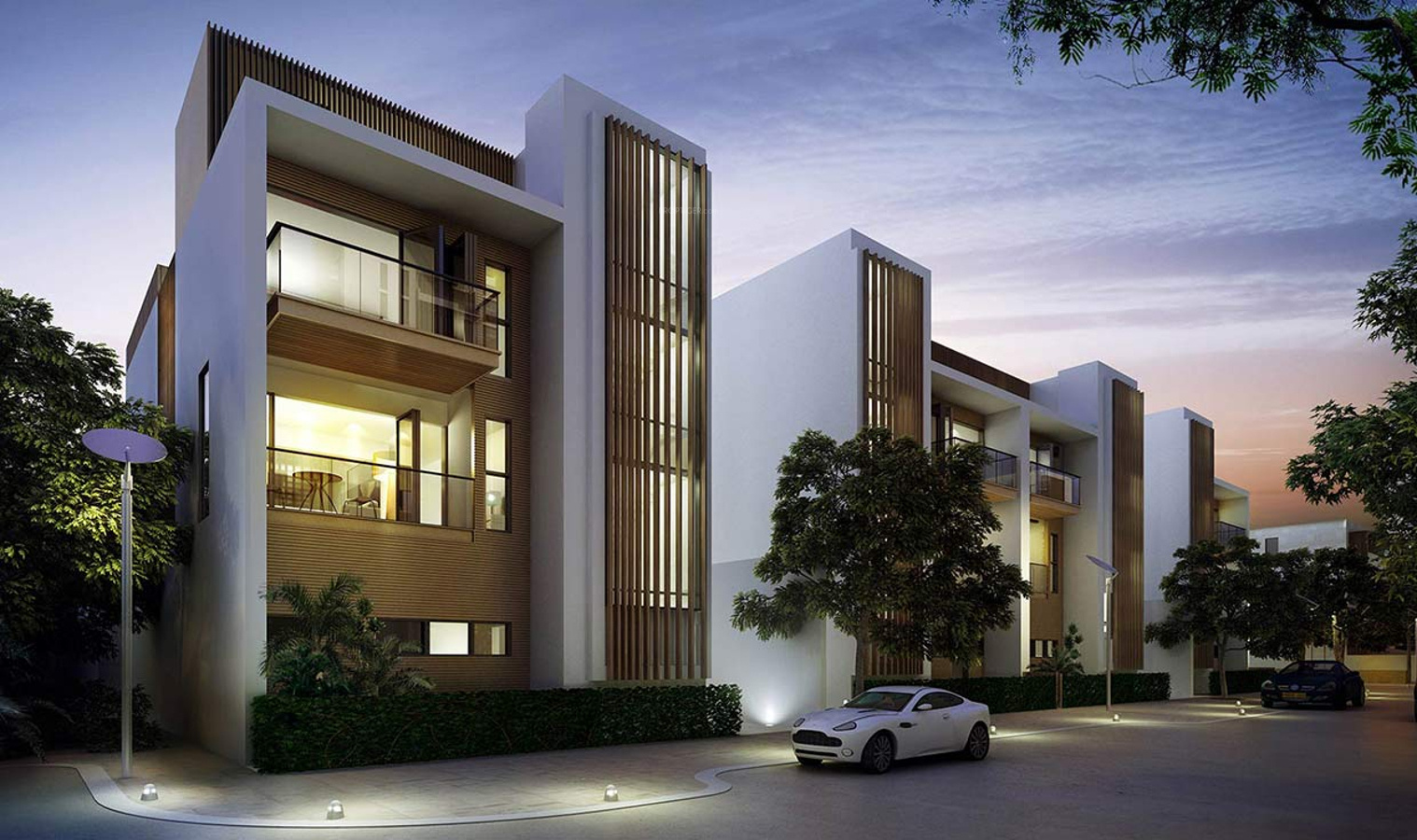 7000 sq ft 4 bhk 5t villa for sale in tata housing for Villa elevation photos