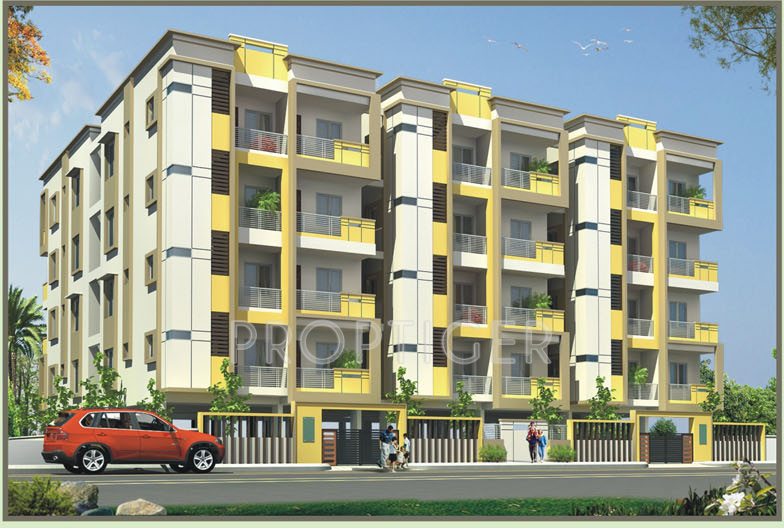 Images for Elevation of Aaradhana Aranya Residency