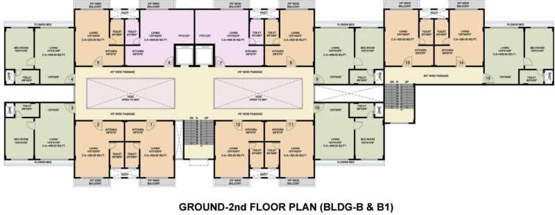 Images for Cluster Plan of Disha Direct Bay Vista