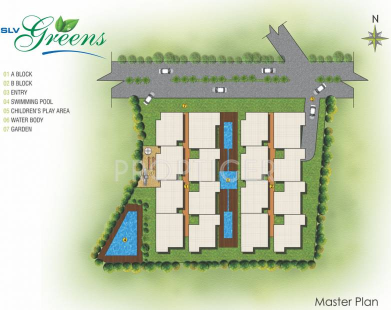 Images for Master Plan of SLV Greens