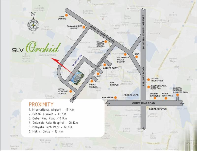 Images for Location Plan of SLV Orchid