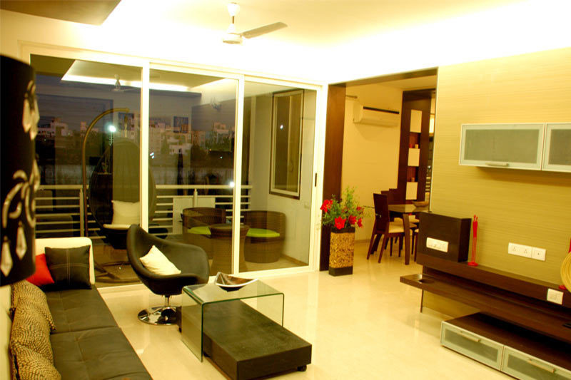 iscon-heights Living Area
