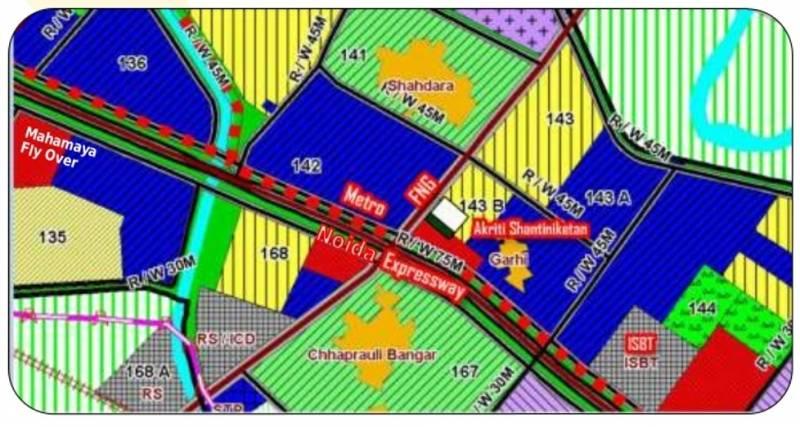 Images for Location Plan of Aakriti Aakriti Shantiniketan