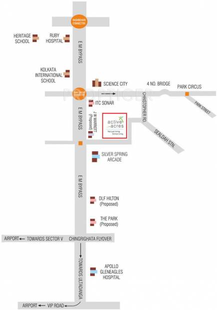 active-acres Images for Location Plan of Ruchi Active Acres