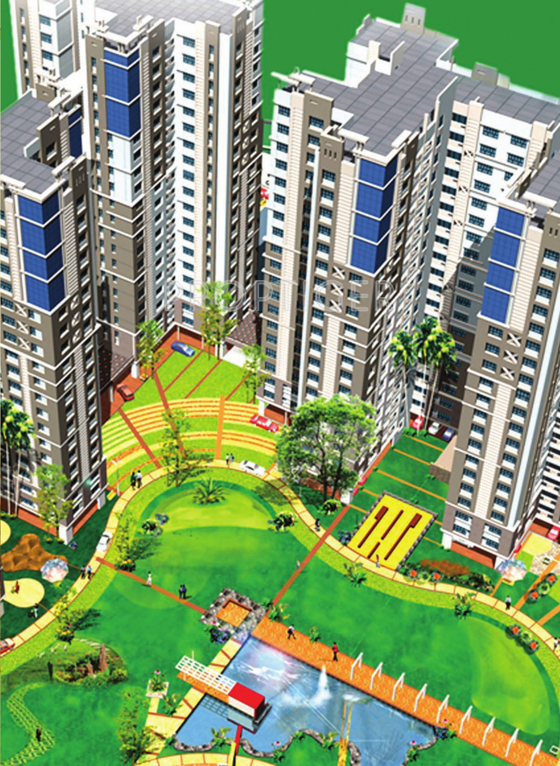 Ruchi Active Acres In Tangra Kolkata Price Location