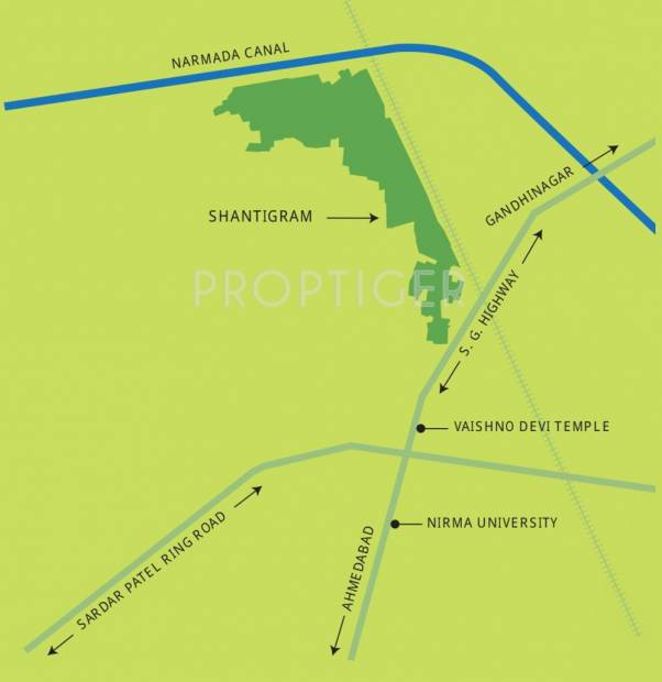 Images for Location Plan of Adani The North Park