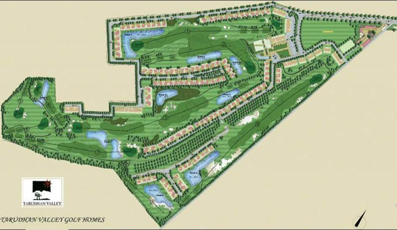 Images for Layout Plan of Silverglades Tarudhan Valley Golf Resort