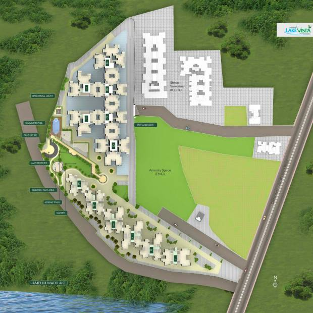 Images for Layout Plan of Venkatesh Lake Vista
