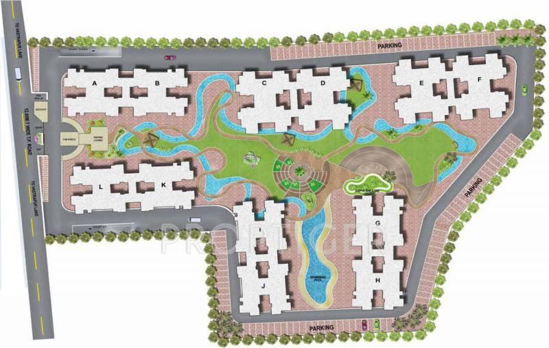 casa-vyoma Images for Layout Plan of Ajmera And Sheetal Casa Vyoma