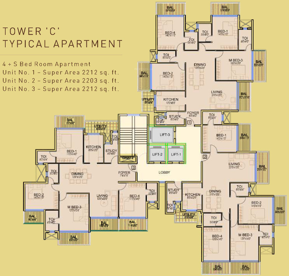 Dhoot Time Residency In Sector 63 Gurgaon Price