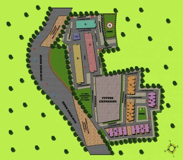 Images for Site Plan of Trehan THD Garden