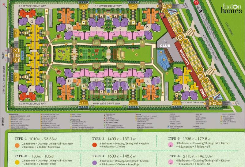 homes Images for Layout Plan of Fusion Homes