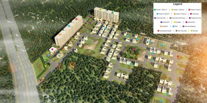 Images for Master Plan of VBHC Vaibhav Plots