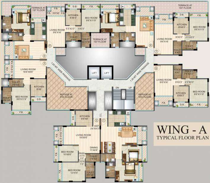 Images for Cluster Plan of Poonam Avenue