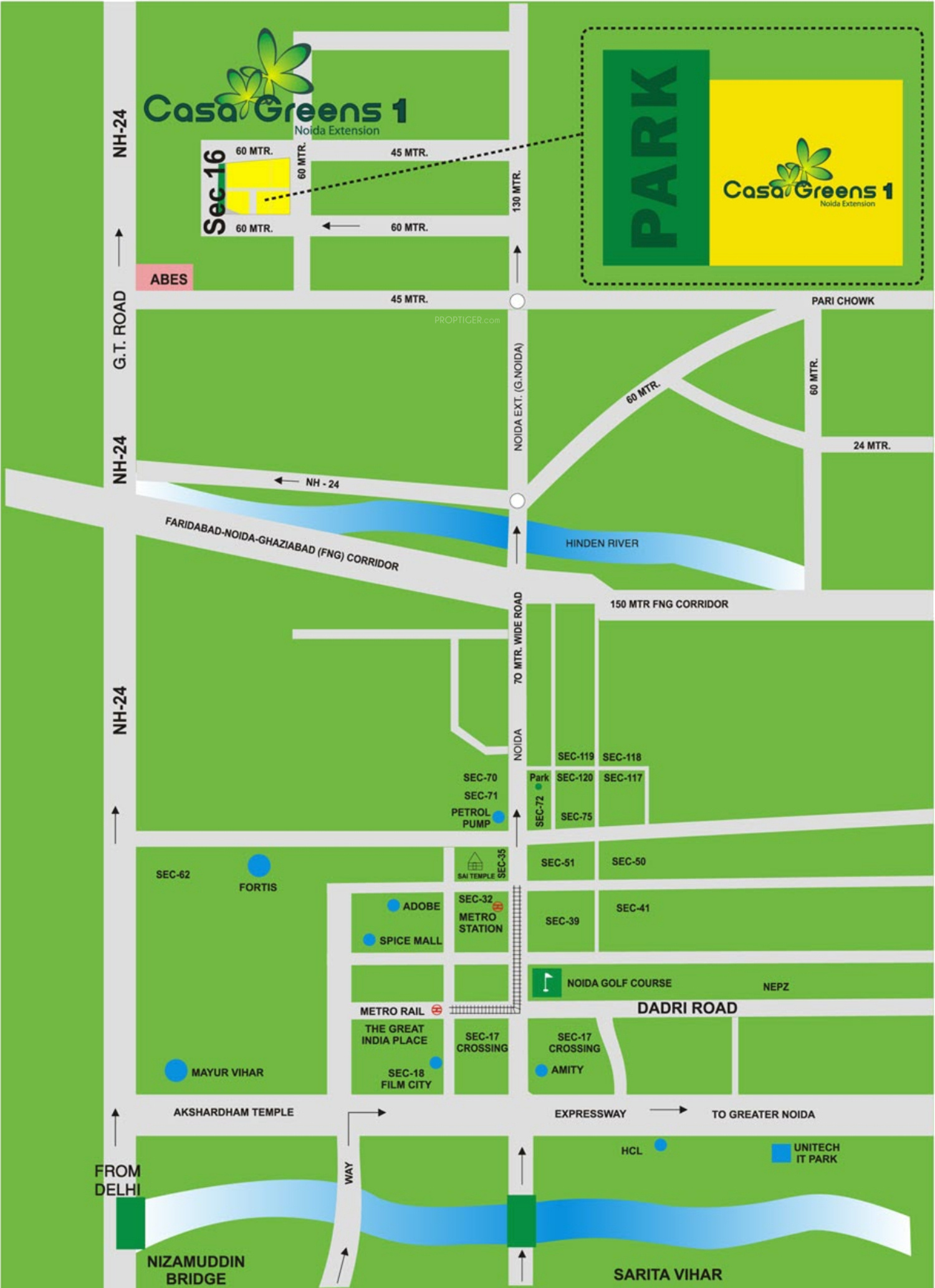 Radhey Casa Greens 1 In Sector 16 Noida Extension Noida