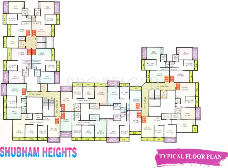 Images for Cluster Plan of Arham Shubham Heights