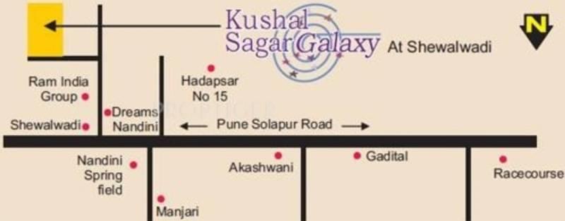 Images for Location Plan of Kushal Sagar Galaxy