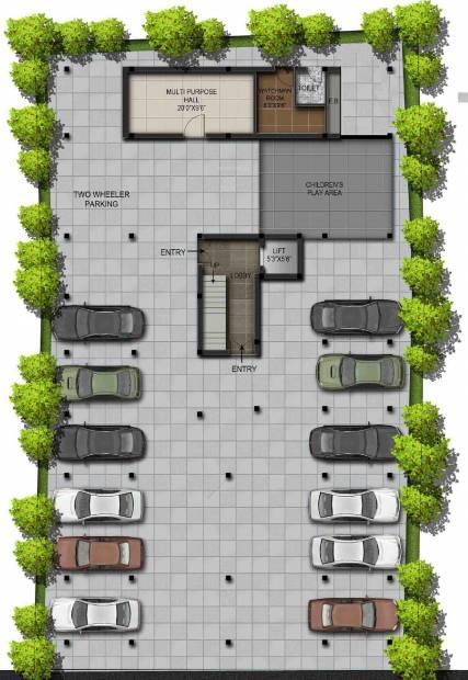 mayura Images for Cluster Plan of Residency Mayura
